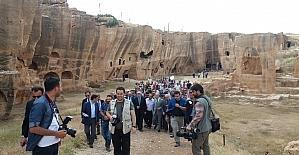 Dara Antik Kenti'ndeki galeri mezar ve sarnıç ziyarete açıldı