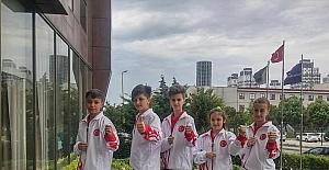 Darıcalı sporcu Balkan üçüncüsü oldu