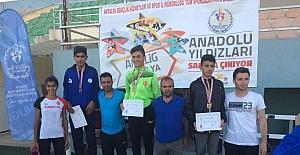Diyarbakırlı atlet Türkiye şampiyonu oldu