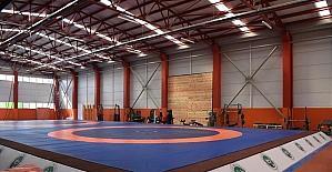 Düzce güreş salonu açılıyor