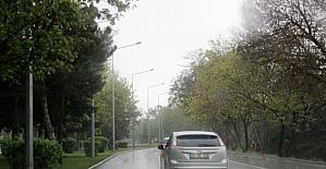 Erzurum'da Ramazan yağmuru