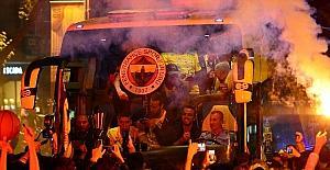Fenerbahçe'de coşkulu kutlama