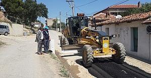 Gölmarmara yolları asfaltlandı