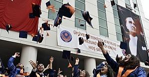 Gümüşhane Üniversitesi'nde mezuniyet sevinci