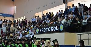 HRÜ Ziraat fakültesinde mezuniyet töreni yapıldı