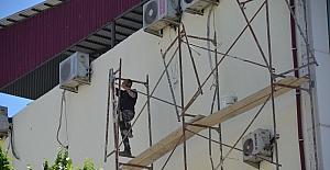 Iğdır'da inşaat işçisi ölüme meydan okudu