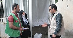 İHH'dan Silopi'de Ramazan öncesi kumanya yardımı