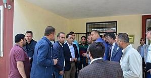 Kaymakam Alibeyoğlu Güroymak esnafıyla buluştu