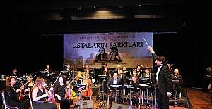 """Kent Orkestrası'ndan, """"Karanfilin Ağıdı"""" konseri"""