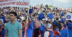 Kırıkkale Üniversitesinde mezuniyet coşkusu