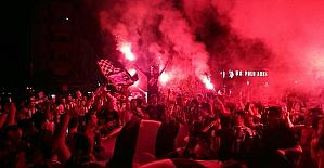 KKTC'de de Beşiktaşlılar coştu