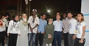 Mardin Valisi Yaman, gençlerle konser dinledi