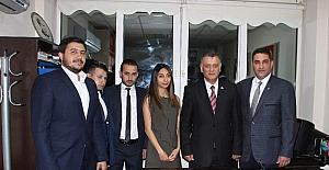MHP Efeler'de yeni yönetim göreve başladı