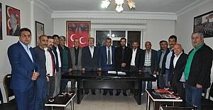 MHP İl Başkanlığında görev dağılımı yapıldı