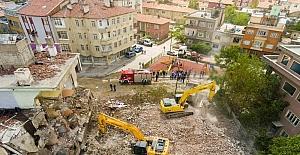 Modern Sahabiye için yıkım sürüyor