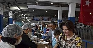 Muratpaşa'da ilk iftar heyecanı yaşandı
