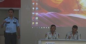 Mut'ta patpat motoru ve motosiklet kullanıcılarına seminer