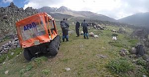 Niğde AFAD ekipleri Hasandağı'nda