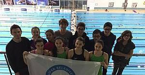 Nilüferli yüzücüler şampiyonaya damga vurdu
