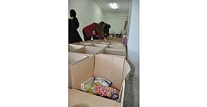 Öğrencilerden fakirlere ramazan yardımı
