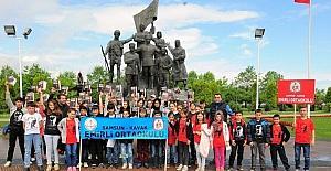 Öğrencilerden Milli Mücadele ve 15 Temmuz ruhu gezisi