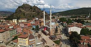 Osmancık Beylerçelebi camii ibadete açıldı
