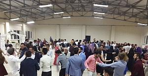Pazarlar Meslek Yüksekokulu öğrencilerinden veda partisi