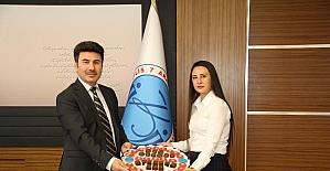 Rektör Karacoşkun'a ziyaret