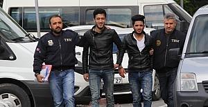 Samsun'da DEAŞ zanlısı 6 Iraklı adliyede