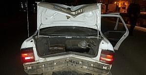 Samsun'da motosiklet otomobile arkadan çarptı: 1 yaralı