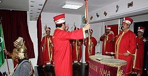 Samsun'da vatandaşlar mehter takımı kurdu