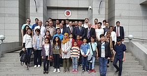 Şanlıurfalı öğrenciler Azerbaycan'ı gezdi