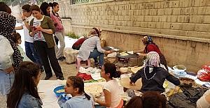 Şehit Feyzullah Taşkınsoy Ortaokulunda kermes şenliği