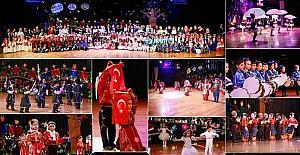 Şehitkamil'de 294 anaokulu öğrencisinden unutulmaz etkinlik