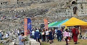 Tales buluşmasının ikincisi Milet Antik Kent'te yapıldı