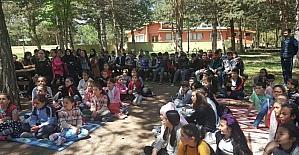 Tokat'ta, 'Okullu okulsuz okuyoruz yazıyoruz' projesi