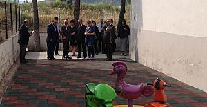 Trafik kazasında kaybettikleri oğulları adına park yaptırdılar