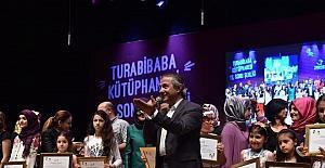 Turabibaba Kütüphanesi yıl sonu etkinliğinde çocuklar doyasıya eğlendi