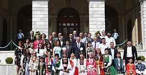 Türk dünyası çocukları İstanbul'da