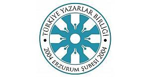 TYB Erzurum Şubesi'nden yazar Akif Emre için taziye mesajı