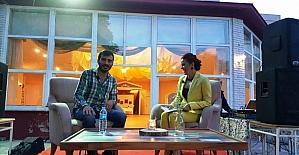 Ünlü oyuncu Ufuk Bayraktar Çanakkale'de