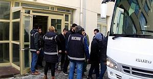 Uşak'ta FETÖ'den 14 kişi tutuklandı