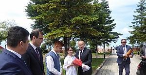 Vali Yaşar Karadeniz, Çatalzeytin'i ziyaret etti