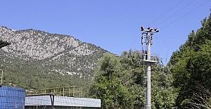 Vezirhan'da atık su arıtma tesisinin elektrik hattı eksikliği giderildi