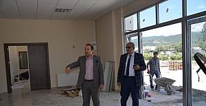 Yeni belediye binası ve kültür merkezi gün sayıyor