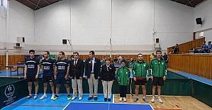Yeşilyurt Belediyespor masa tenisi takımı ligi 6. sırada tamamladı