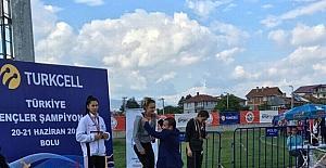 200 metre yarışlarında Türkiye Şampiyonu Süleymanpaşa'dan çıktı