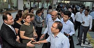 Adana Adliyesi'nde bayramlaşma