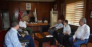 Albayrak, Başkan İbrahim Uyan'ı ziyaret etti