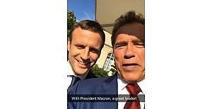 Arnold Schwarzenegger, Elysee Sarayı'nda